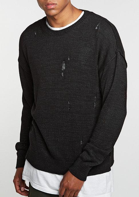 Criminal Damage Sweatshirt Chapel black/black