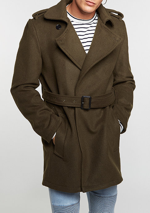 Criminal Damage CD Coat Agent olive/olive
