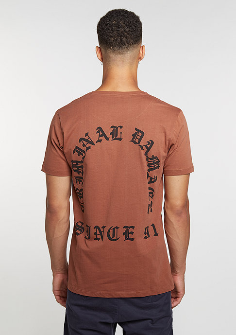 Criminal Damage T-Shirt Grave rust/black