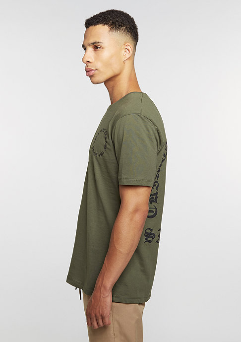 Criminal Damage CD Tee Grave olive/black