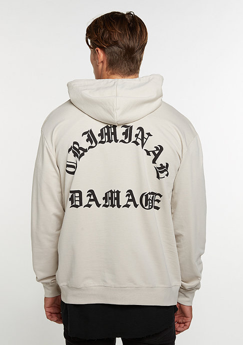Criminal Damage CD Hood Whitechapel light nude/black