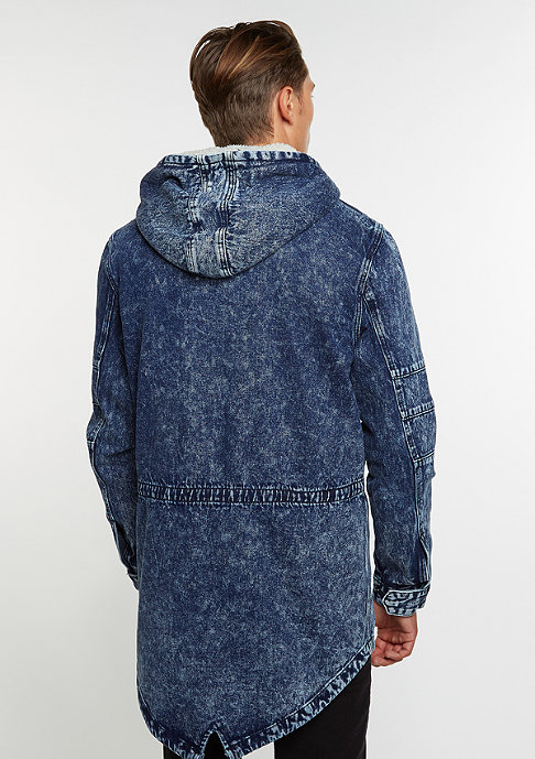 Cayler & Sons Jacket ALLDD Denim Parka blue denim acid wash