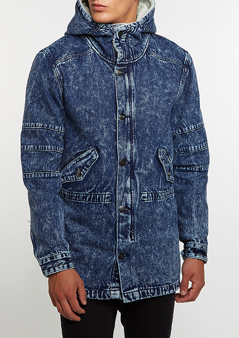 Cayler & Sons C&S Jacket ALLDD Denim Parka blue denim acid wash