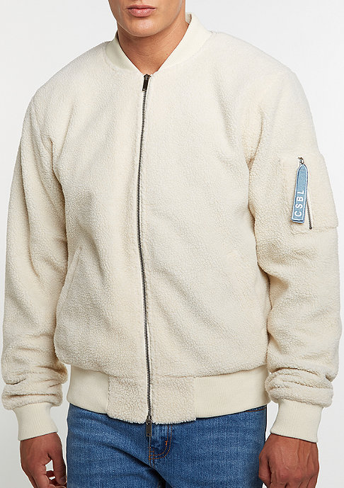 Cayler & Sons C&S Jacket ALLDD Sherpa Bomber off white sherpa