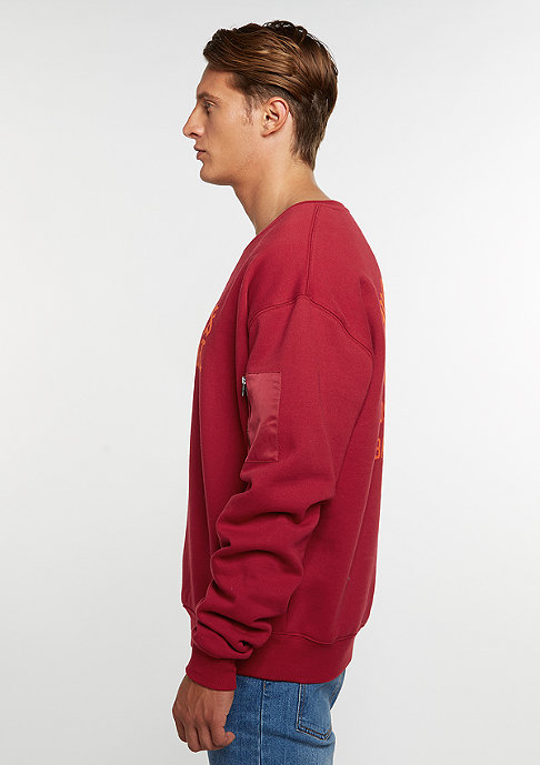Cayler & Sons Sweatshirt BL Tour Oversized red/orange