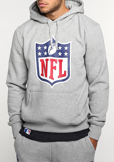New Era Hoody NFL Generic Logo heather grey