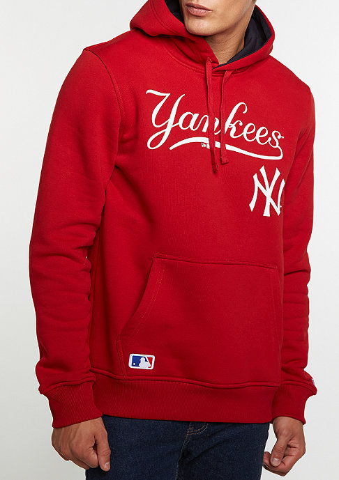 New Era Hoody MLB New York Yankees scarlet
