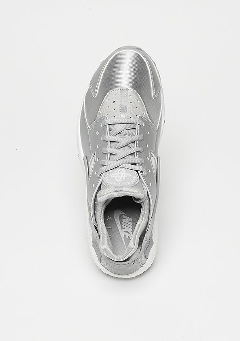 NIKE Air Huarache Run SE metallic silver/matte silver