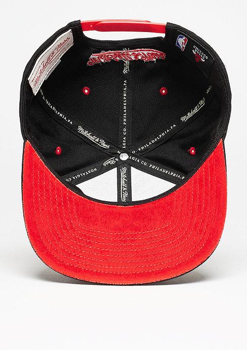 Mitchell & Ness Solid Velour Logo NBA Chicago Bulls black