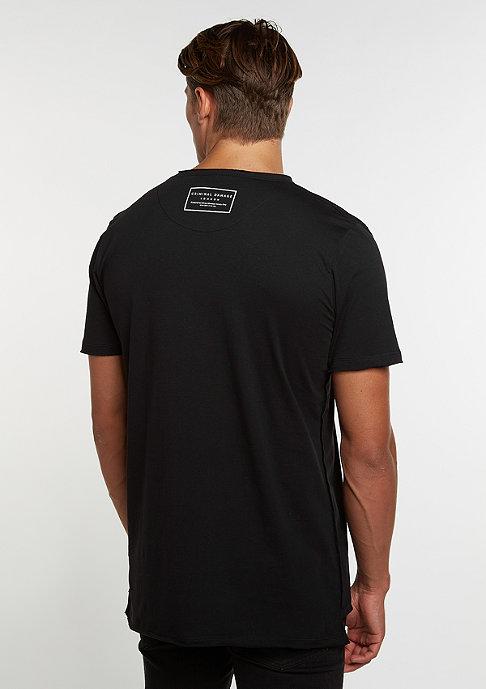 Criminal Damage T-Shirt Charlton black/reflective