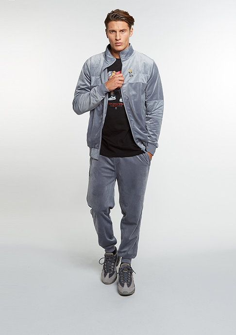 Cayler & Sons C&S WL Jacket CHMPGN DRMS Track grey velour/mc