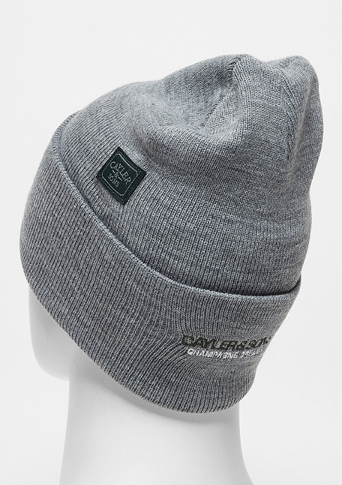 Cayler & Sons C&S WL Beanie CHMPGN DRMS Old School heather grey/mc