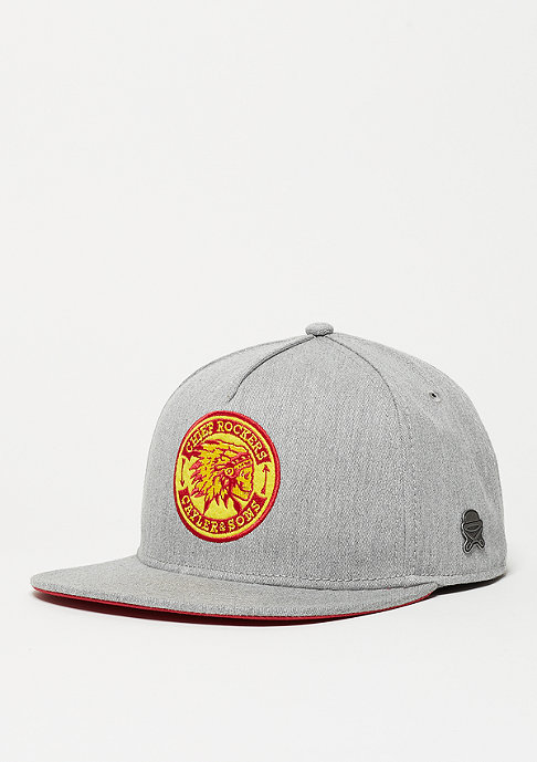 Cayler & Sons C&S CL Cap CR heather grey/red/yellow