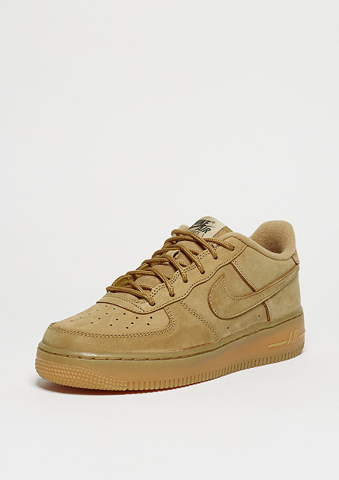 NIKE Basketballschuh Air Force 1 LV8 LTR (GS) flax/flax/outdoor green