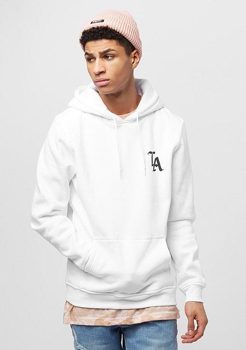 Mister Tee Hooded-Sweatshirt LA white