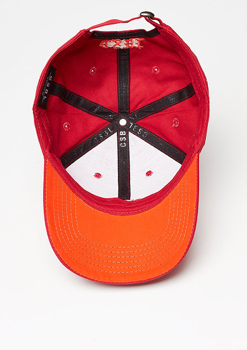 Cayler & Sons CSBL Worldwide Curved Cap red/orange