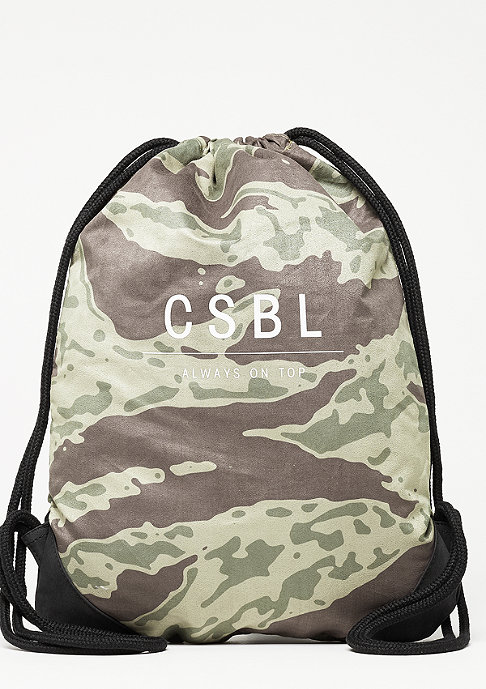 Cayler & Sons Turnbeutel Section Gymbag tiger camo/white/black