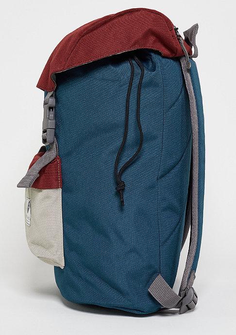 Ridgebake Rucksack Hook blue/maroon/light grey