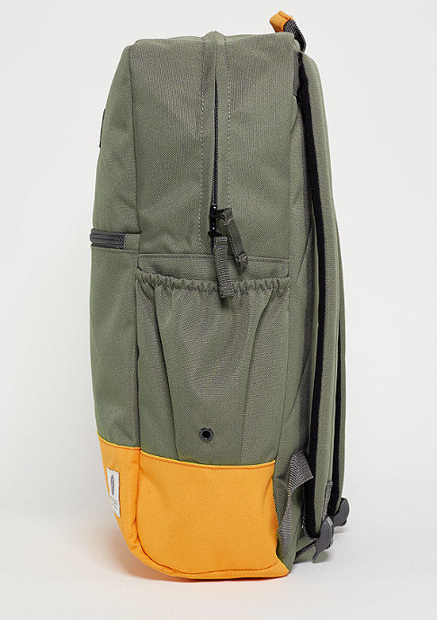 Ridgebake Rucksack Neville army/orange