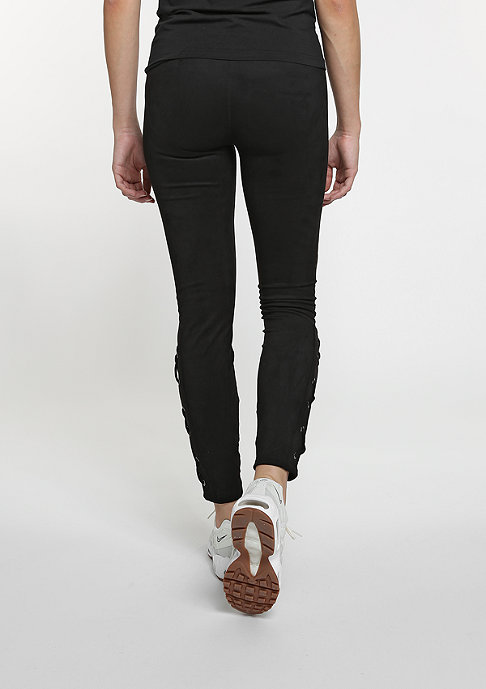 Flatbush Suede Leggings black