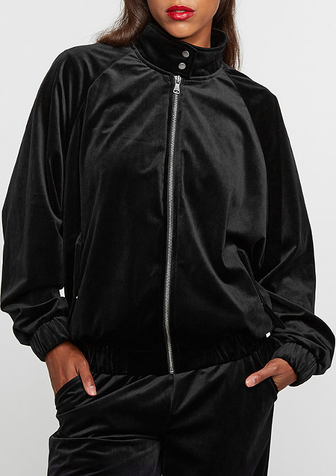 Future Past Trainingsjacke Velvet Herrington Jacket black