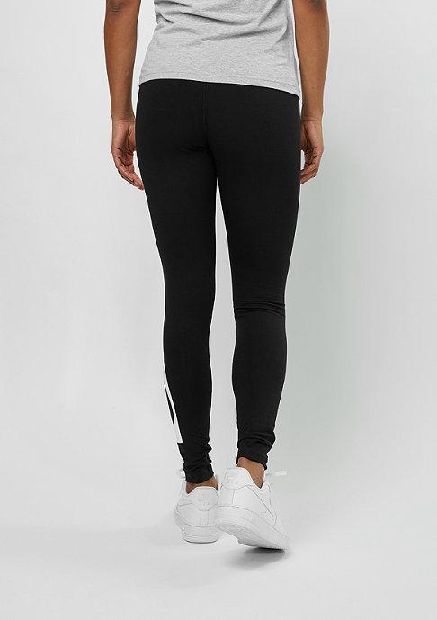 NIKE Leggings Irreverent black/white