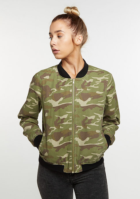 Future Past Blouson Camo