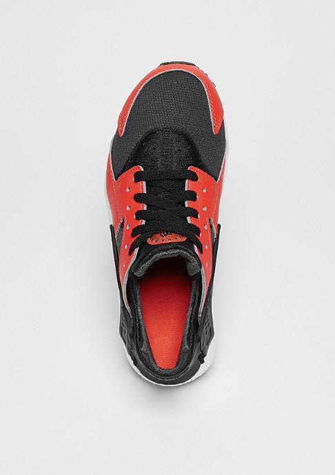 NIKE Laufschuh Air Huarache Run (GS) max orange/black/black