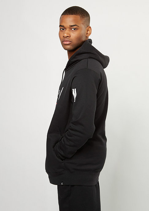 JORDAN Hooded-Sweatshirt Jumpman Brushed Graphic PO 2 black