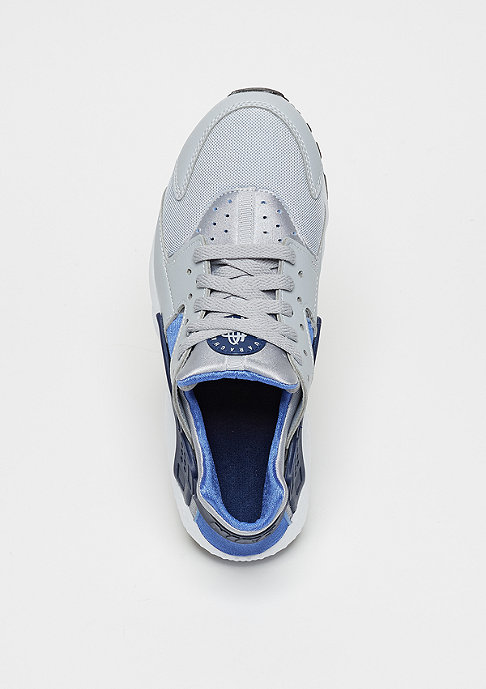 NIKE Laufschuh Air Huarache Run (GS) wolf grey/binary blue/comet blue