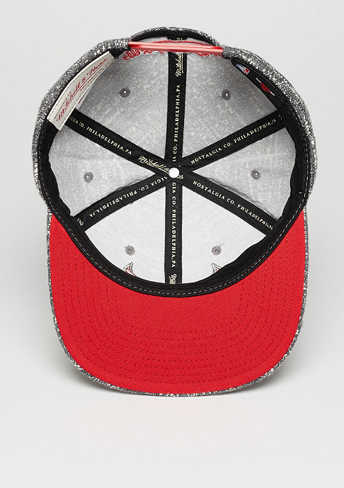 Mitchell & Ness Grey Noise NBA Chicago Bulls grey/red