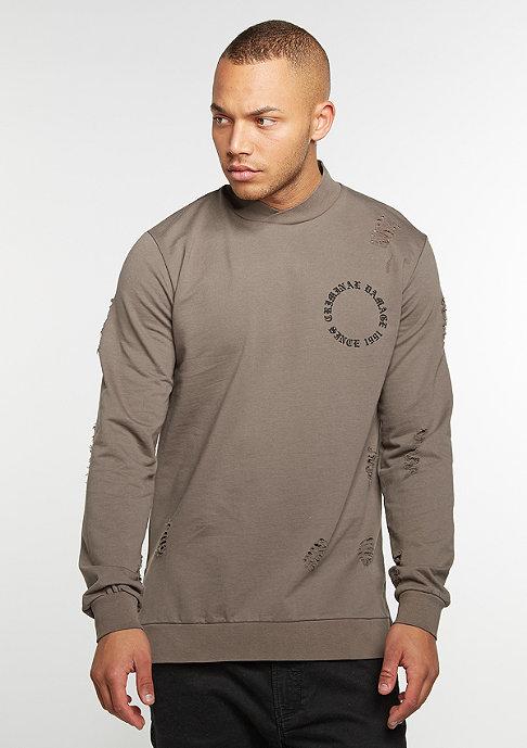 Criminal Damage CD Sweater Dragon Mushroom/Multi