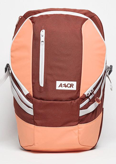 Aevor Sportspack Red Dusk wine/coral