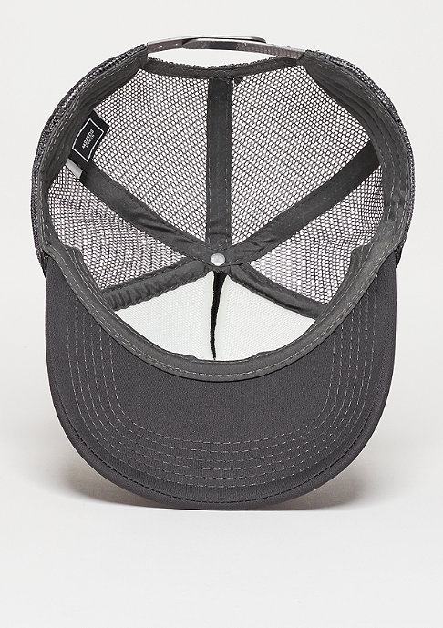 Masterdis Trucker-Cap Baseball High Profile dark grey/black