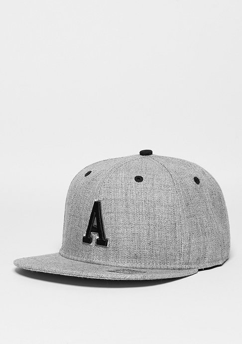 Masterdis Letter A heather grey