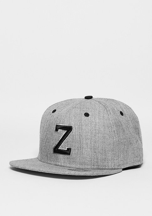 Masterdis Snapback-Cap Letter Z heather grey
