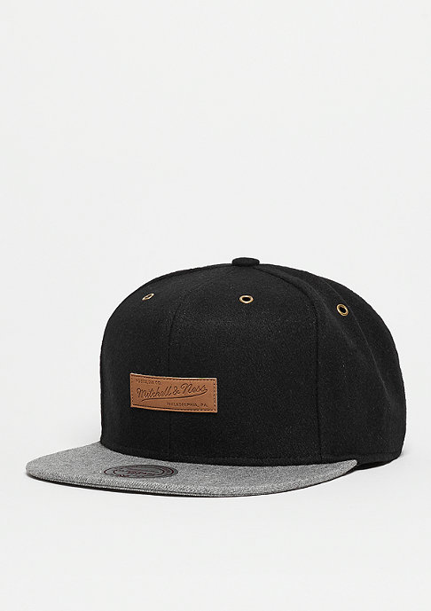 Mitchell & Ness Snapback-Cap Prime black/grey