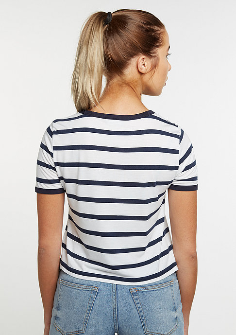 Flatbush Stripes white/navy