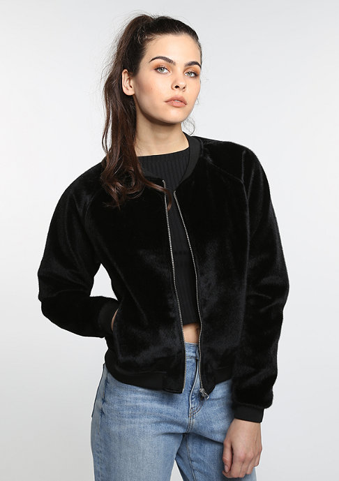 Future Past Fur Bomber black