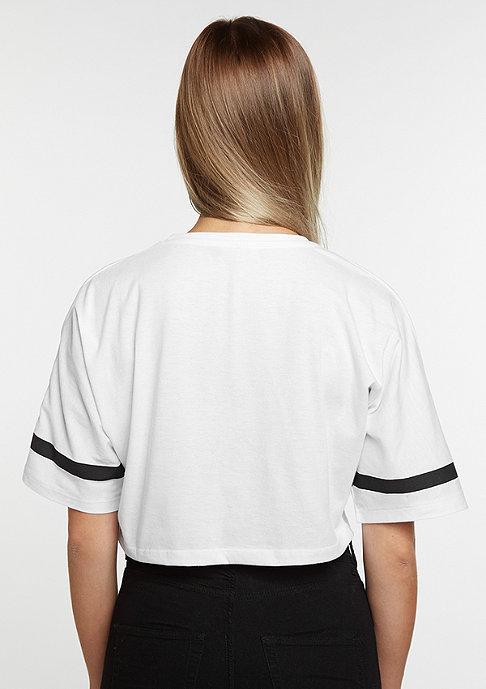 Future Past Print Tee white/black