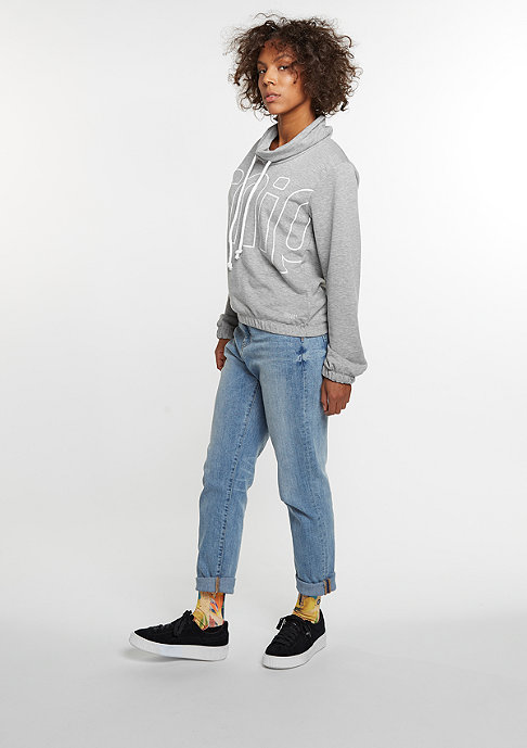 SNIPES Sweatshirt High Neck Crew grey