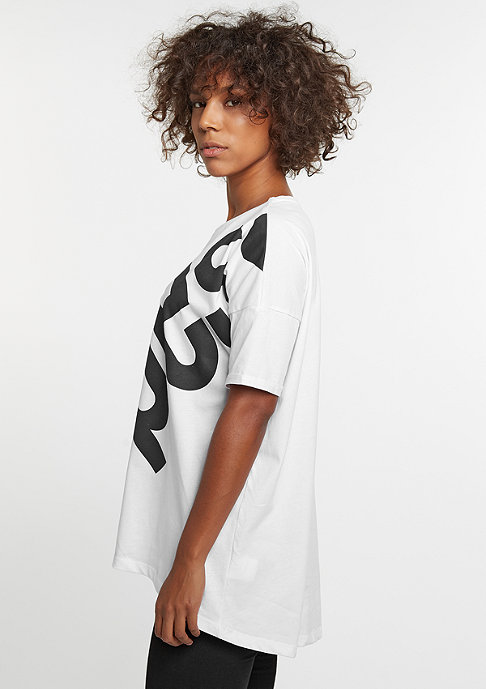 SNIPES Oversized Tee white