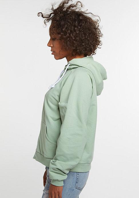 SNIPES Hooded-Zipper mint
