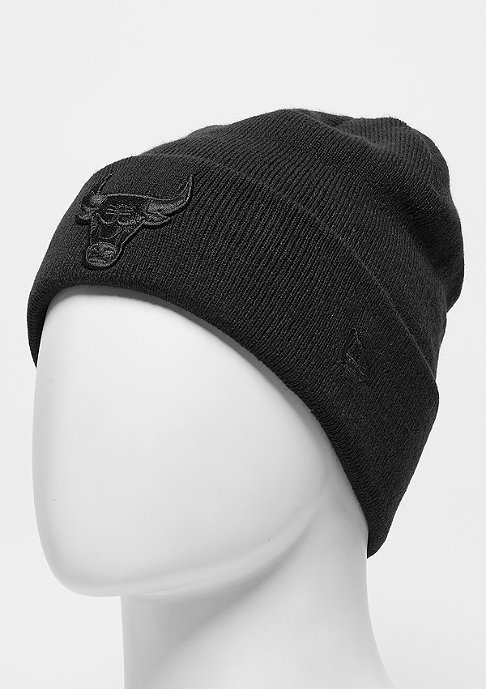 New Era BOB Knit NBA Chicago Bulls black/black