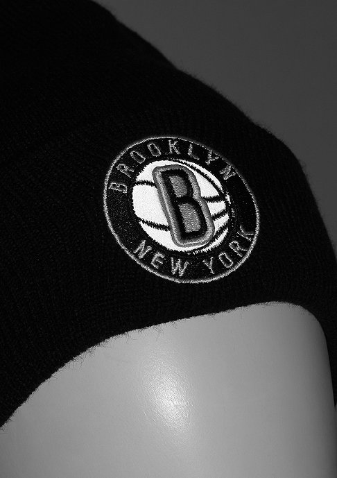 New Era Reflective Pack Knit NBA Brooklyn Nets black