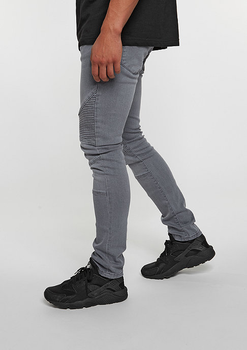 Urban Classics Slim Fit Biker grey