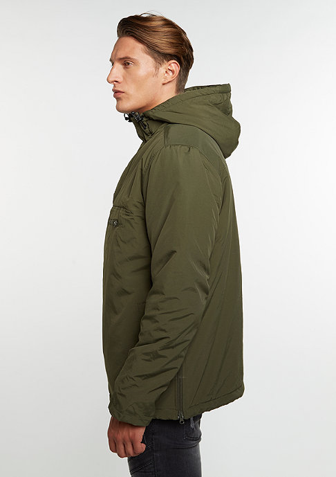 Urban Classics Padded Pull Over olive