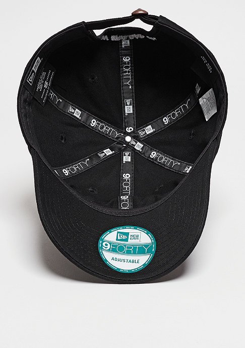 New Era Baseball-Cap 9Forty Unstructured None black