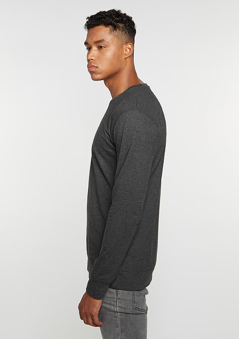 Mister Tee Sweatshirt Life Is Pain charcoal