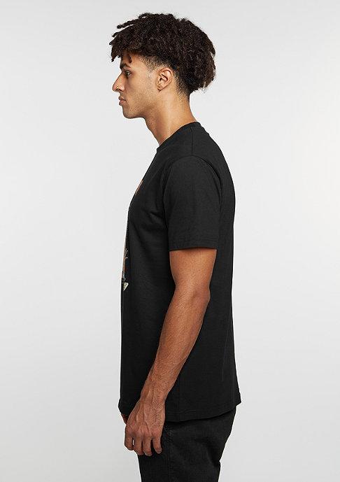 Wavey T-Shirt Jump Over black